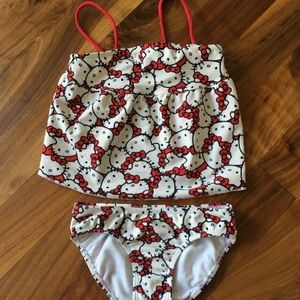 Hello Kitty two piece swimsuit